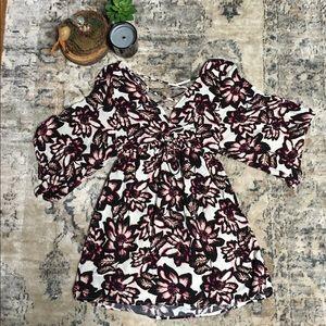 SALE 🔥 Flutter Sleeve Baby doll Dress